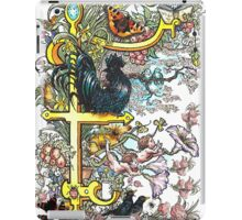The Illustrated Alphabet Capital F (Fuller Bodied) iPad Case/Skin