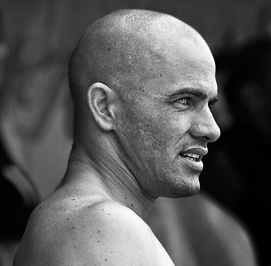Kelly Slater At O'Neill World Cup of Surfing 06 by Alex Preiss