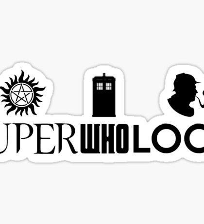 Superwholock Sticker