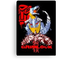 Age of Grimlock  Canvas Print