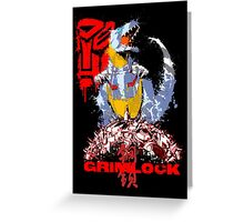 Age of Grimlock  Greeting Card