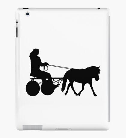Driving Silhouette iPad Case/Skin