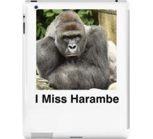 I Miss Harambe iPad Case/Skin