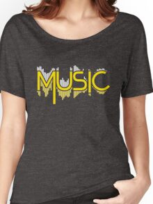 Music Soundwave Women's Relaxed Fit T-Shirt