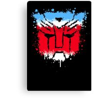 Autobots splash out Canvas Print