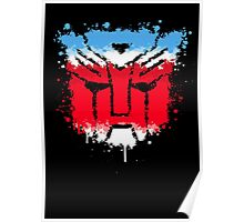 Autobots splash out Poster