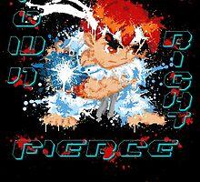Down Right Fierce - RYU by scribbleworx