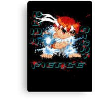 Down Right Fierce - RYU Canvas Print
