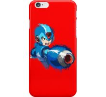 Megaman (Rockman) Splash Paint Design iPhone Case/Skin