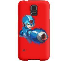 Megaman (Rockman) Splash Paint Design Samsung Galaxy Case/Skin