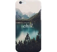 chill and huf iPhone Case/Skin