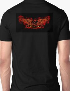 Motor with wings at the flame Unisex T-Shirt