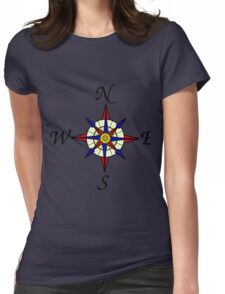 Compass 578 Womens Fitted T-Shirt