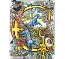 The Illustrated Alphabet Capital G (Fuller Bodied) iPad Case/Skin