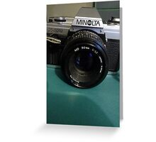 One of the Best-----The Minolta X---370. Greeting Card