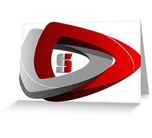 Dota 2 Simplete Logo Shirt Greeting Card