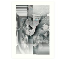 Can you see the real me? Art Print