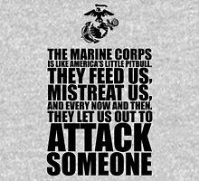 The Marine Corps text based t shirt Unisex T-Shirt