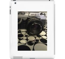 The Minolta X--370 iPad Case/Skin
