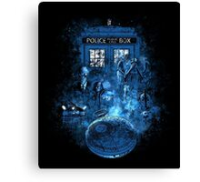 Life of the Doctor Canvas Print