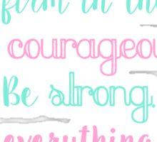 1 Corinthians 16:13-14 Sticker