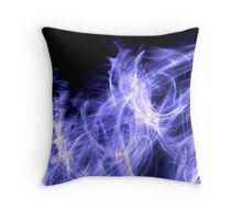 Cold Flame Throw Pillow