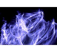 Cold Flame Photographic Print