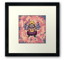 Waario Framed Print