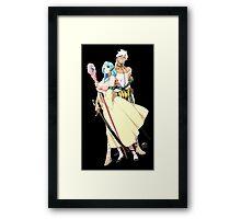 Sharrkan and Yamraiha Framed Print