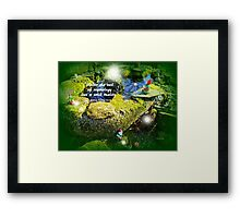 MYTHOLOGY Framed Print