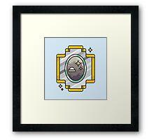 Space mirror Framed Print
