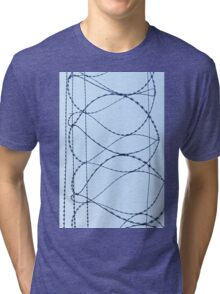 Barby Wire Tri-blend T-Shirt