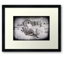 Bodie Ghost Town 4, California. Framed Print