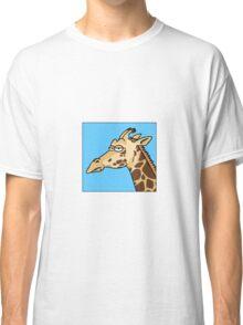 Giraffe is not amused Classic T-Shirt
