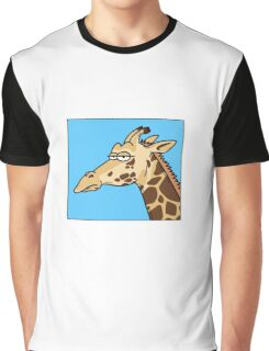 Giraffe is not amused Graphic T-Shirt