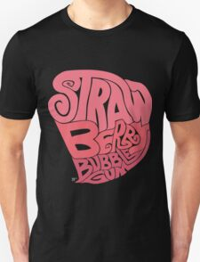 Strawberry Bubblegum Unisex T-Shirt