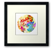 Little Aloha Framed Print