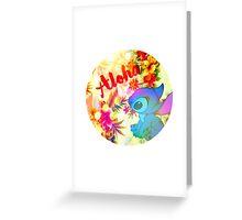 Little Aloha Greeting Card
