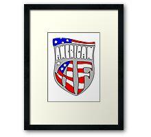 American AF Merica! Framed Print