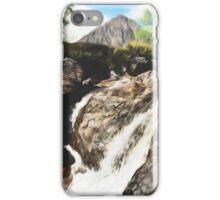 Buachaille Etive Mor digital painting iPhone Case/Skin