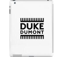 DUKE DUMONT iPad Case/Skin