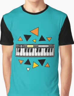 Music keyboard Graphic T-Shirt