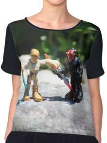 Action Figures Chiffon Top