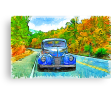 Painted Drive Canvas Print