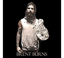 Brent Burns Military 0005 Photographic Print