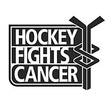 Hockey Fights Cancer 00006 Photographic Print