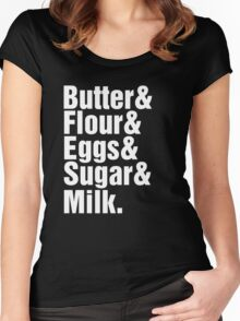Baker Cake Decorator - Beatles Parody Women's Fitted Scoop T-Shirt