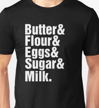 Baker Cake Decorator - Beatles Parody Unisex T-Shirt
