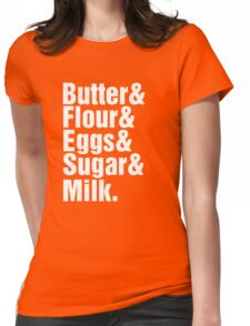 Baker Cake Decorator - Beatles Parody Womens Fitted T-Shirt
