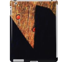 Shadow scissors iPad Case/Skin